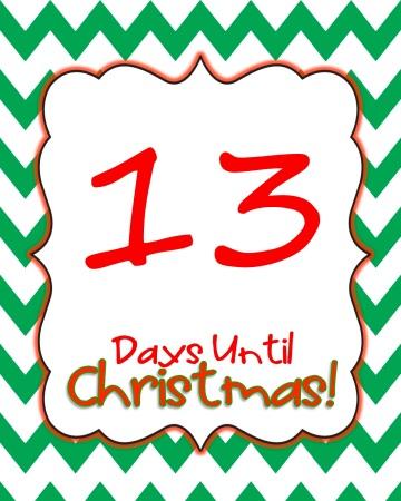 13 Days til Christmas