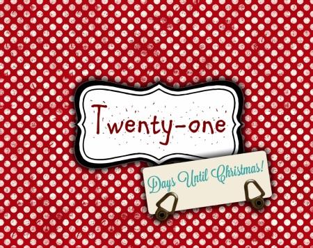 21 Days til Christmas