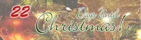22 Days til Christmas