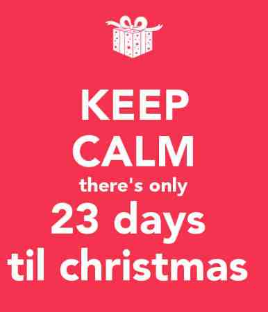 23 Days til Christmas