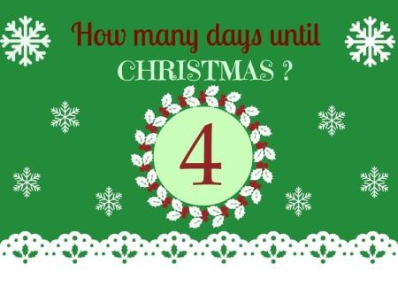 4 Days til Christmas