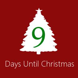 9 Days til Christmas