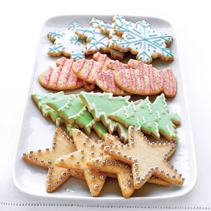 Sugar Cookies with Ornamental Frosting