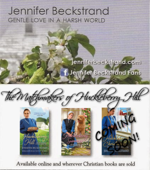 Jennifer Beckstrand street team Huckleberry Hill